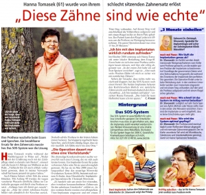 SOS Artikel in Mach mal Pause, November 2010