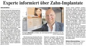 SOS Artikel in der Rheinischen Post, Juli 2010